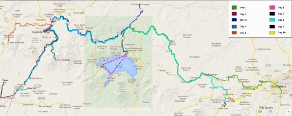 Tour. Google map | educational tours in guatemala